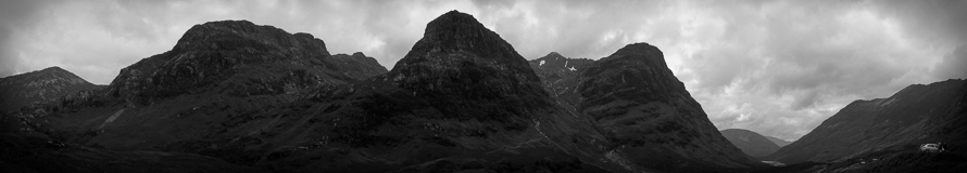Glen Coe is one of the more impressive features in Scotland between Fort William and Glasgow.